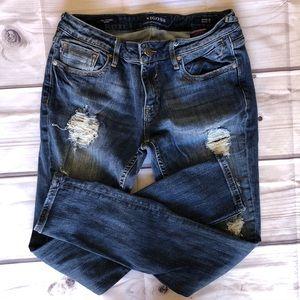 Vigoss Jeans 28 HEAVILY DISTRESSED EUC